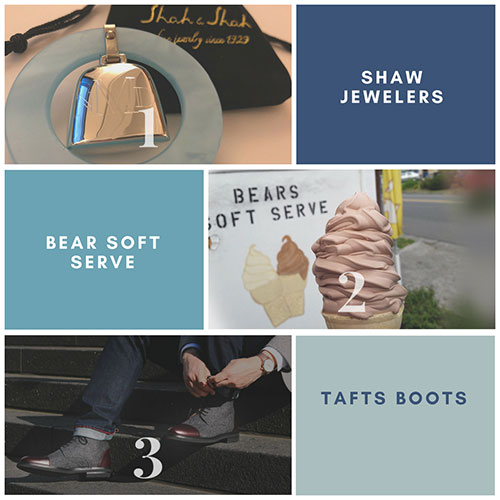 Click to view: Shaw Jewelers | Bears Soft Serve | Taft Boots